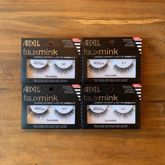 ac92e157061 Ardell Makeup | Faux Mink 817 Lashes X4 | Poshmark